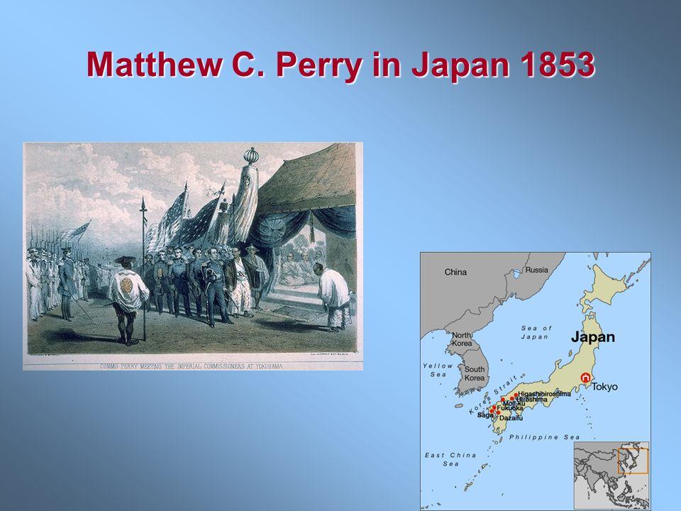 Matthew C. Perry in Japan 1853