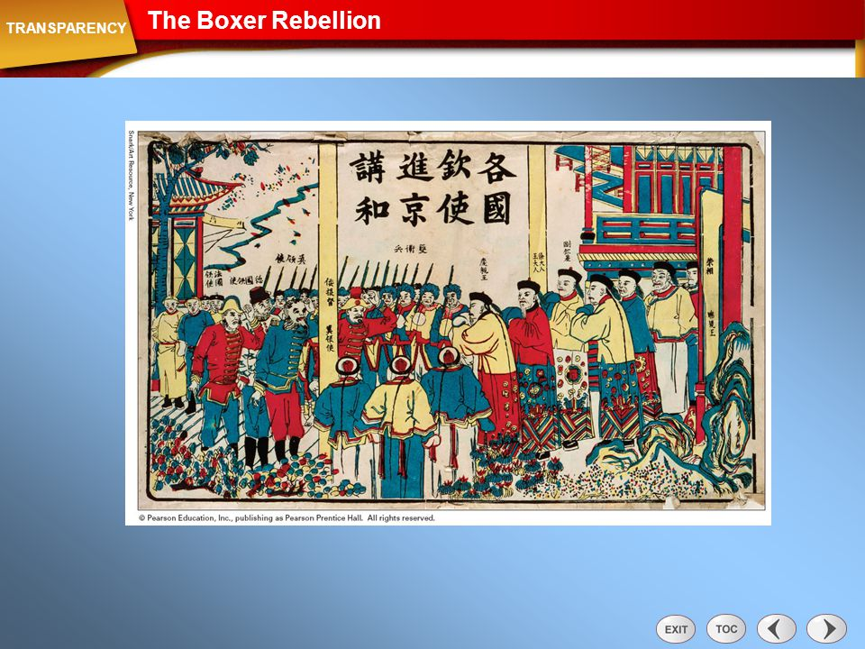 Transparency: The Boxer Rebellion