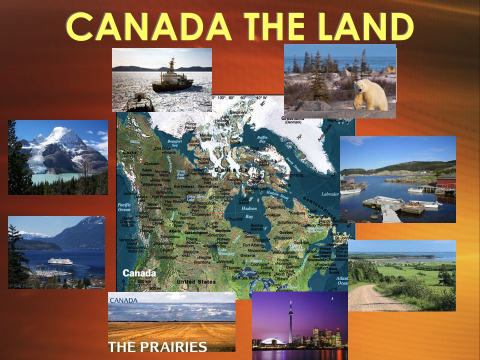 CANADA THE LAND
