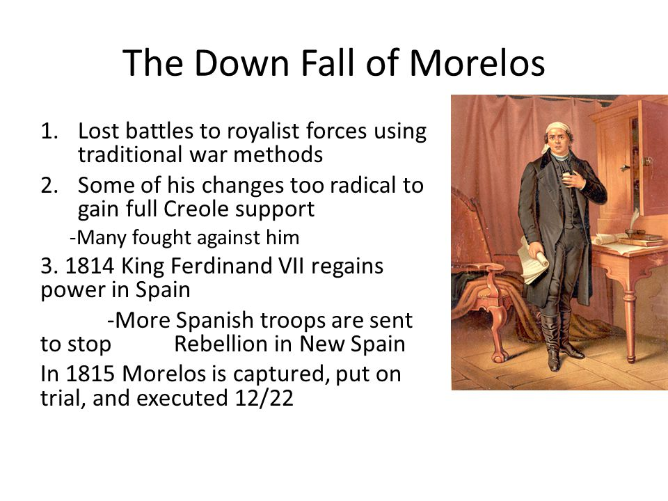 The Down Fall of Morelos