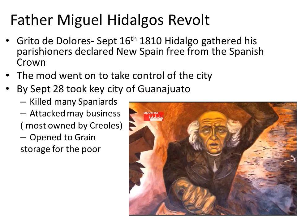 Father Miguel Hidalgos Revolt