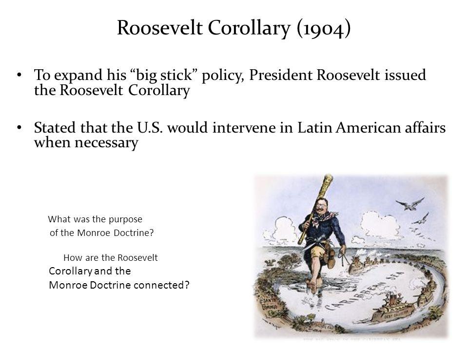 Roosevelt Corollary (1904)