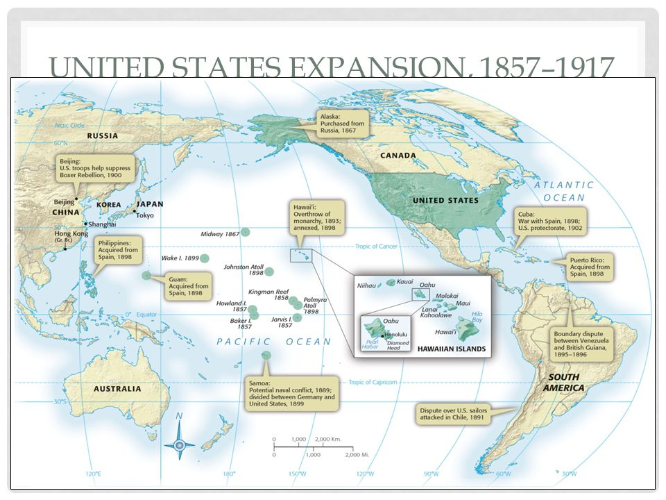 United States Expansion, 1857–1917