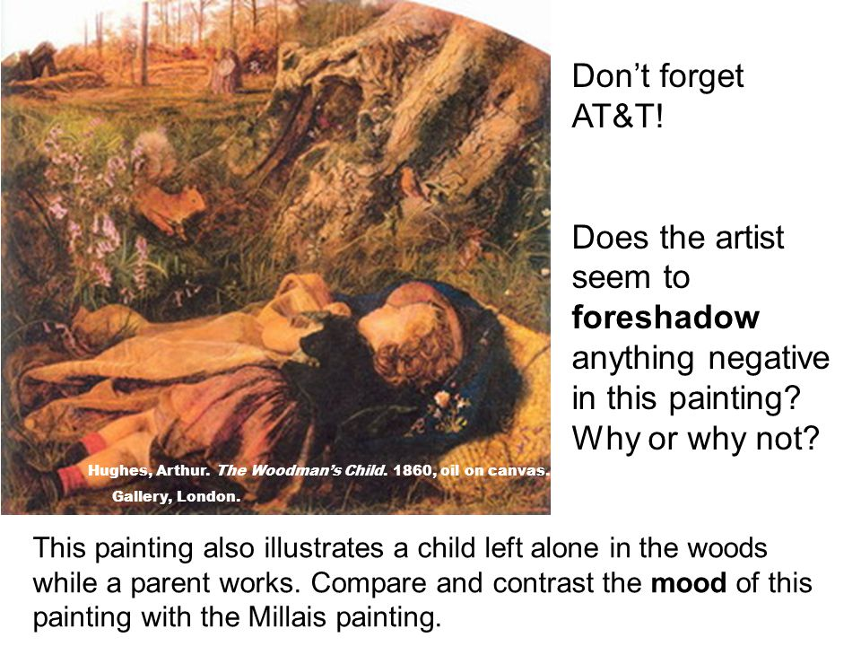 Don't forget AT&T! Does the artist seem to foreshadow anything negative in this painting Why or why not