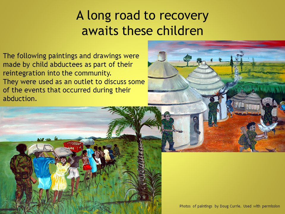 A long road to recovery awaits these children