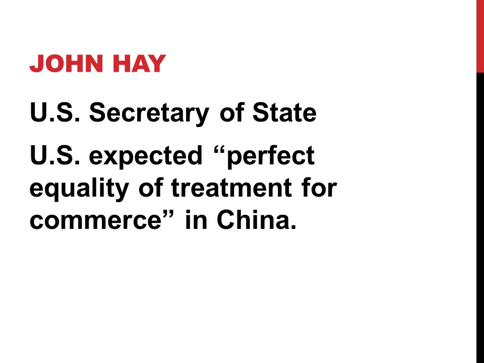 John Hay U.S. Secretary of State U.S.