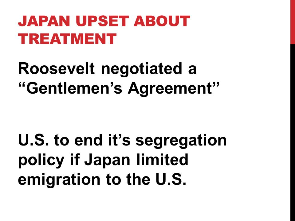 Japan upset about treatment