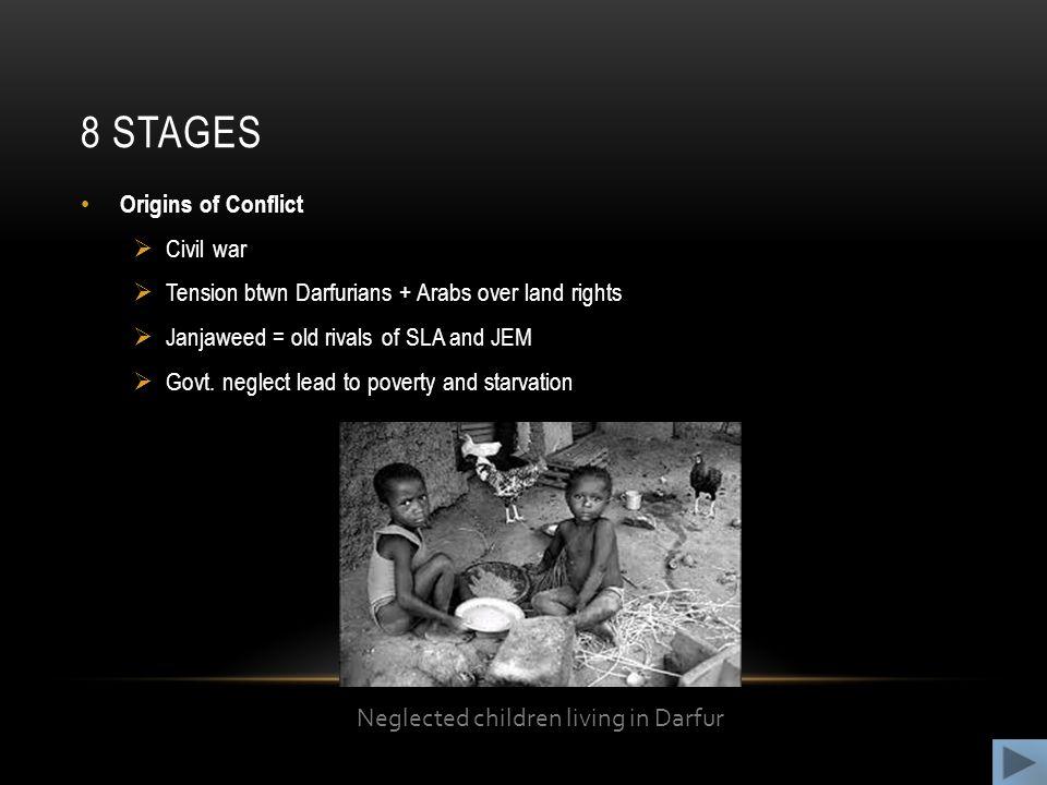 Neglected children living in Darfur