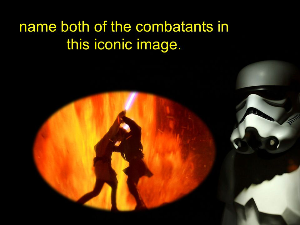 name both of the combatants in this iconic image.
