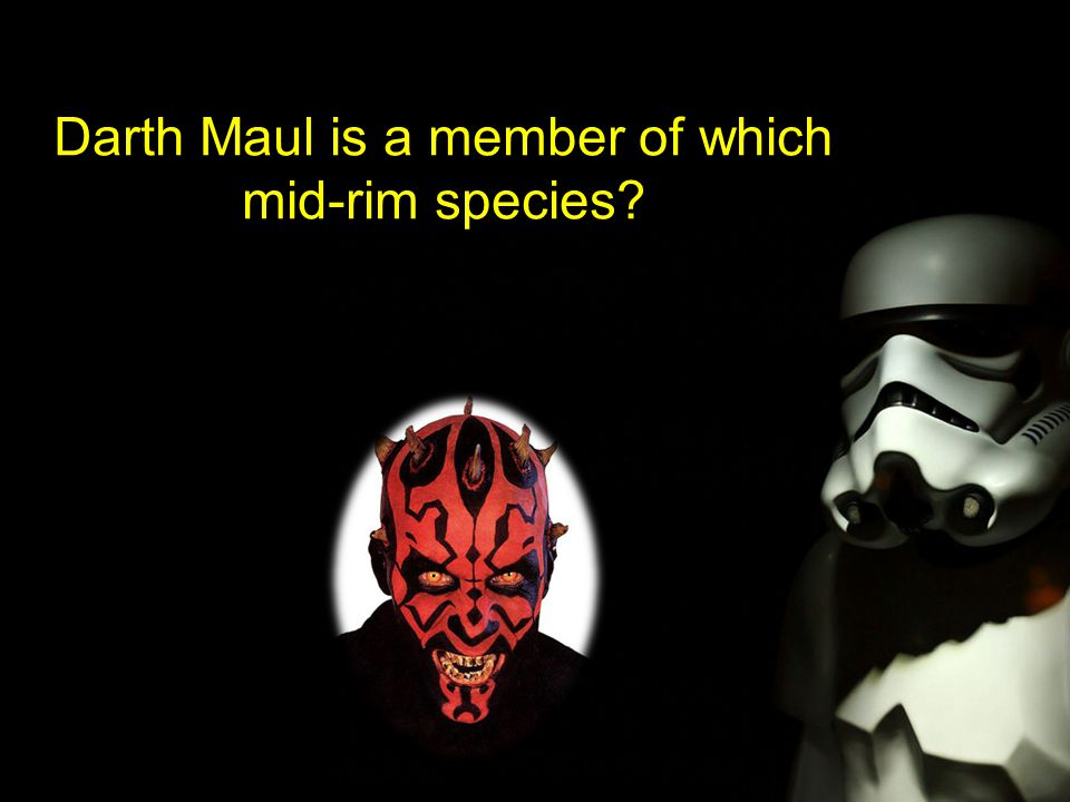 Darth Maul is a member of which mid-rim species
