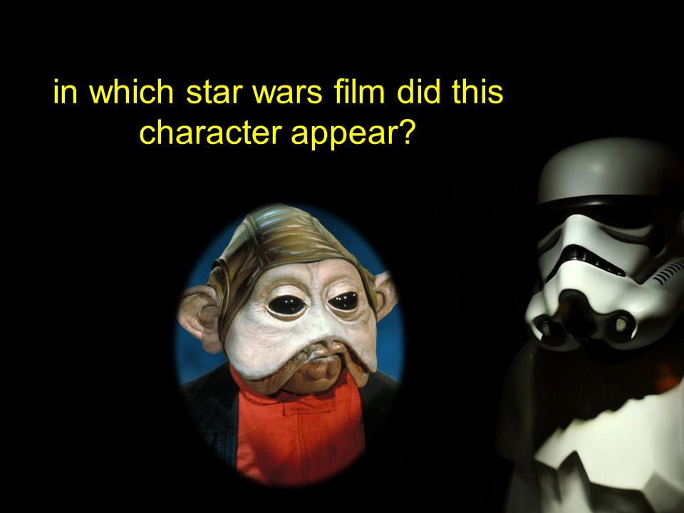 in which star wars film did this character appear