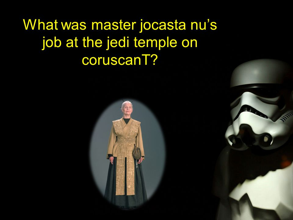 What was master jocasta nu's job at the jedi temple on coruscanT