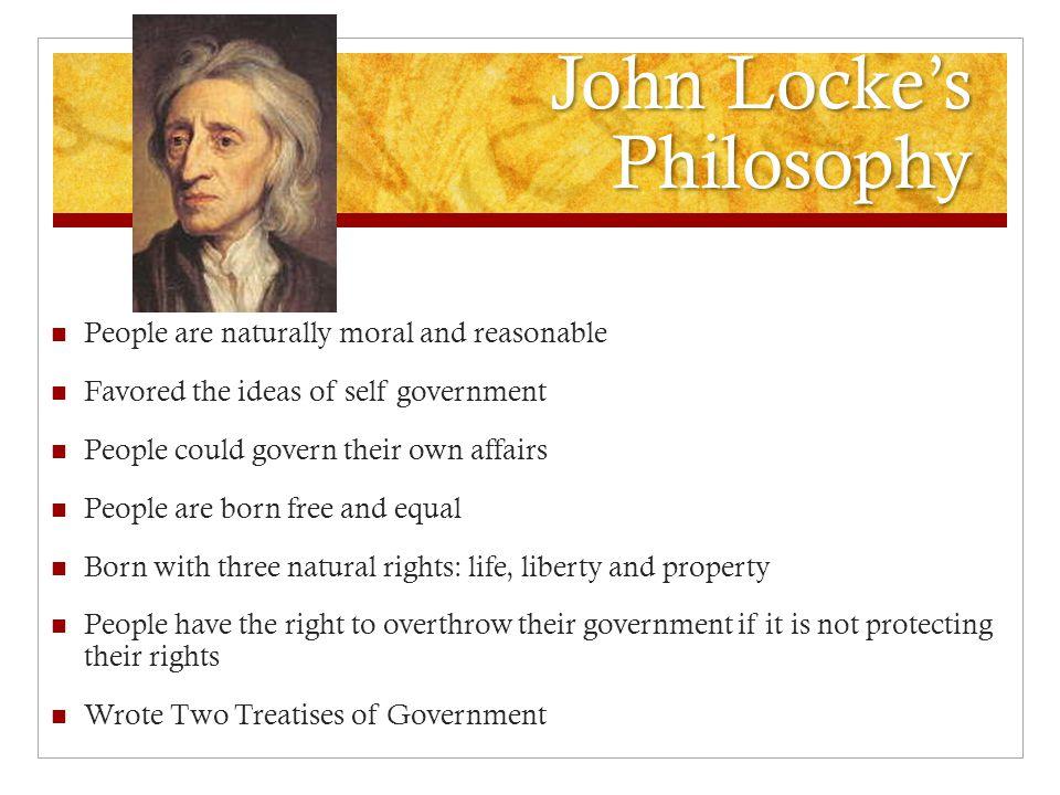 John Locke's Philosophy