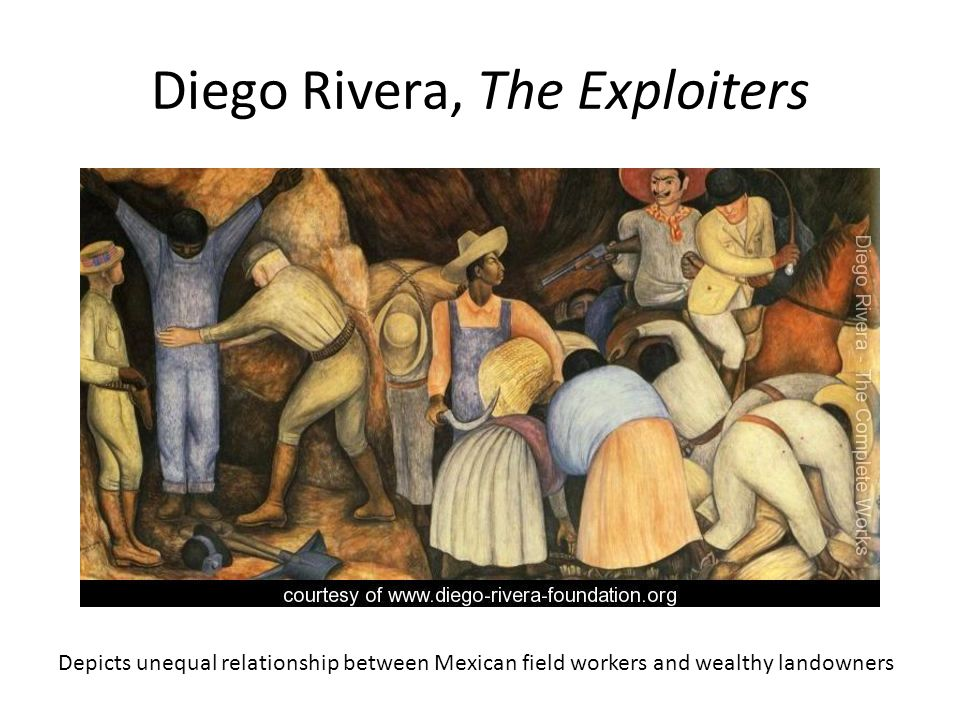 Diego Rivera, The Exploiters