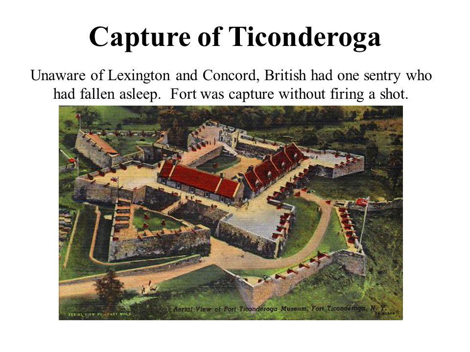 Capture of Ticonderoga