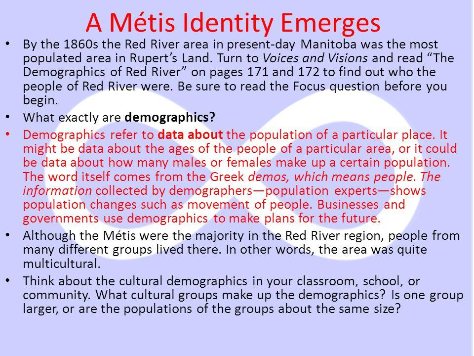 A Métis Identity Emerges