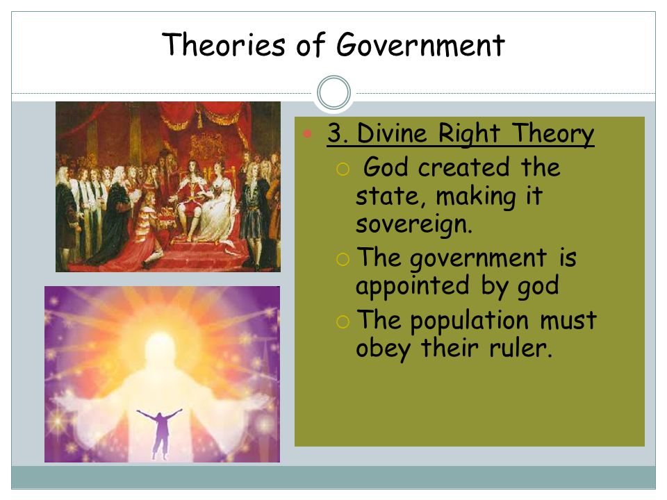 Theories of Government