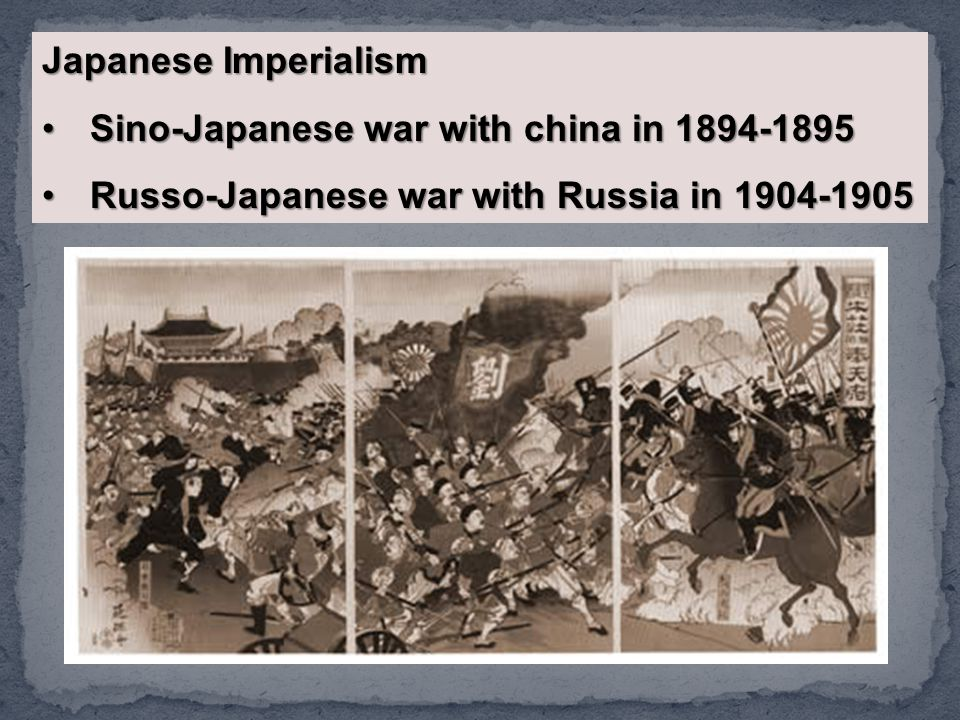 Sino-Japanese war with china in 1894-1895