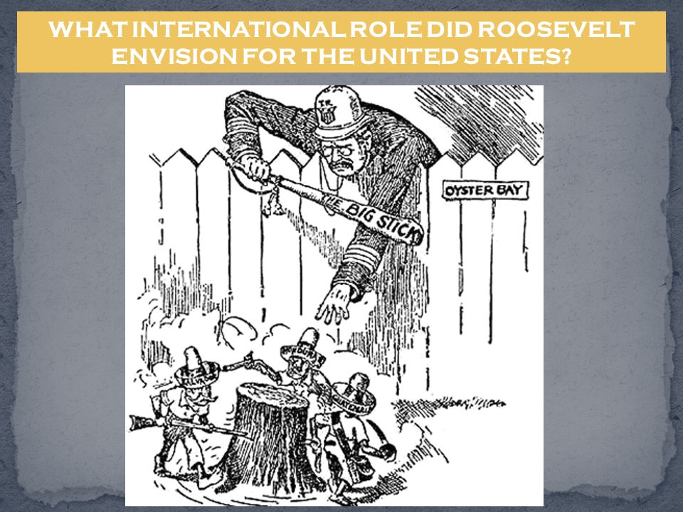 WHAT INTERNATIONAL ROLE DID ROOSEVELT ENVISION FOR THE UNITED STATES