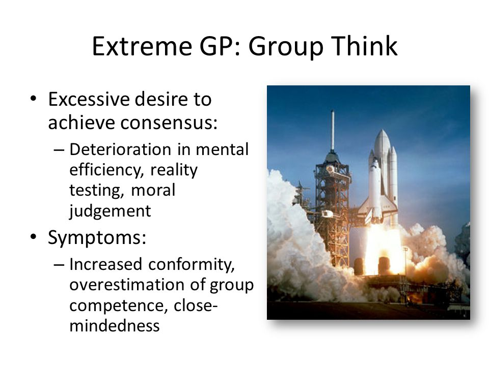Extreme GP: Group Think