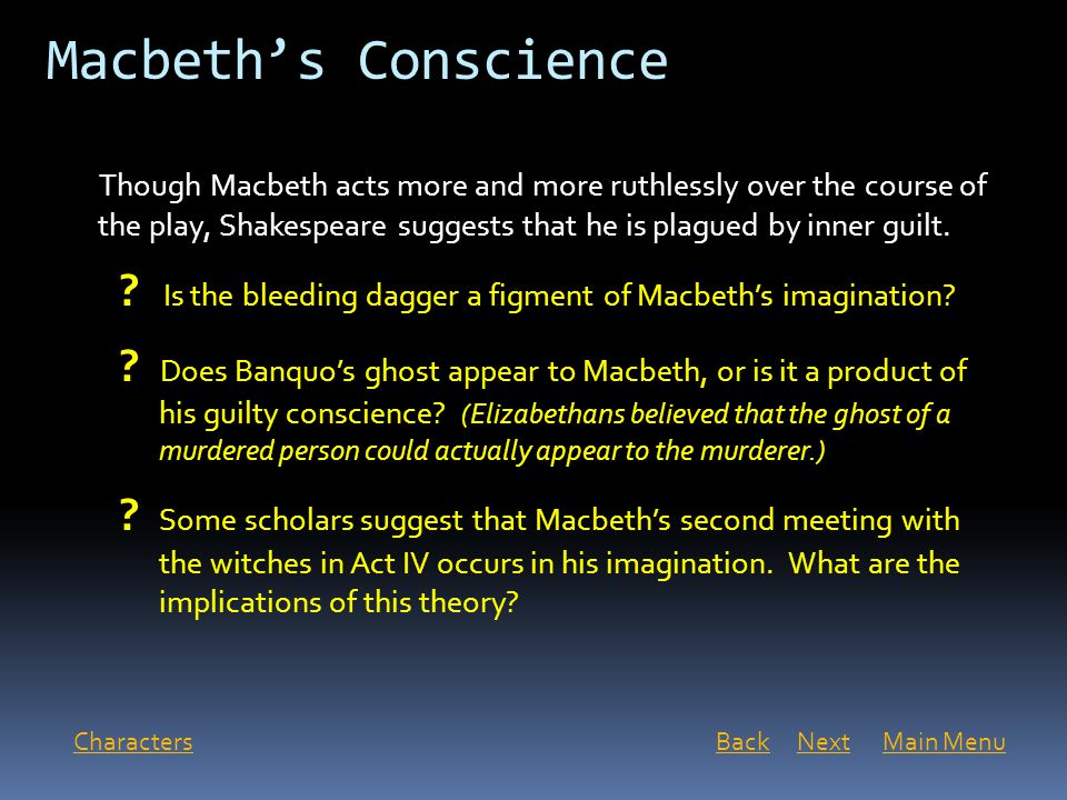 a macbeth essay