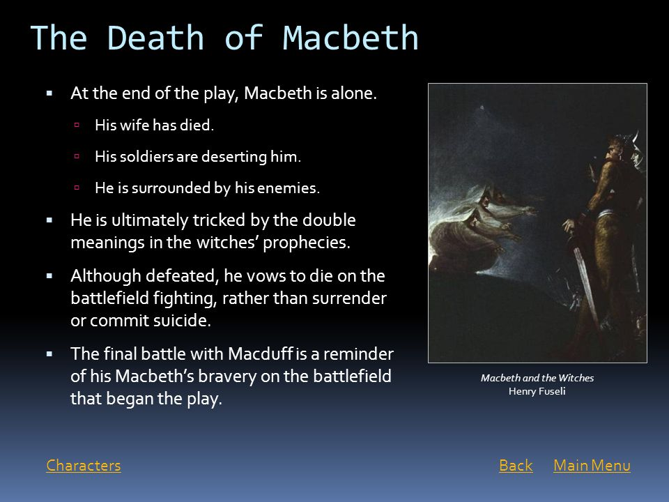 What effect do the three prophecies have on Macbeth in Act IV?