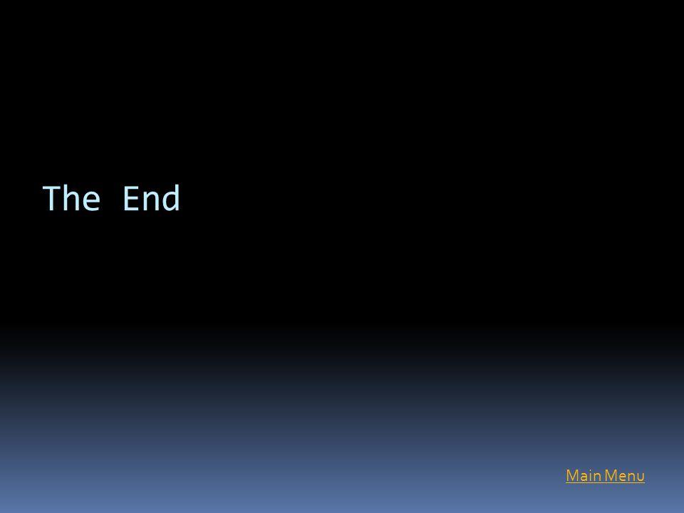 The End Main Menu
