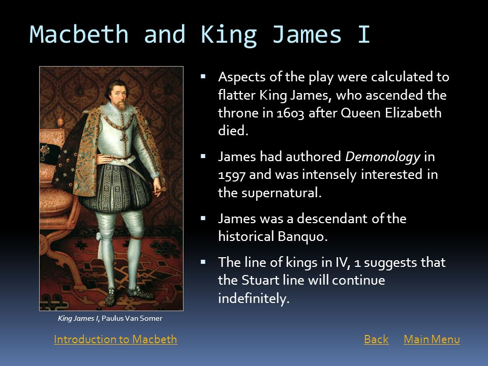 Macbeth and King James I