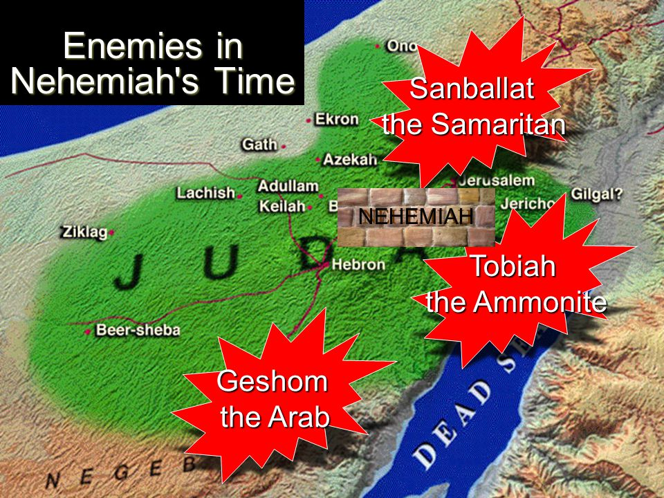 Enemies in Nehemiah s Time