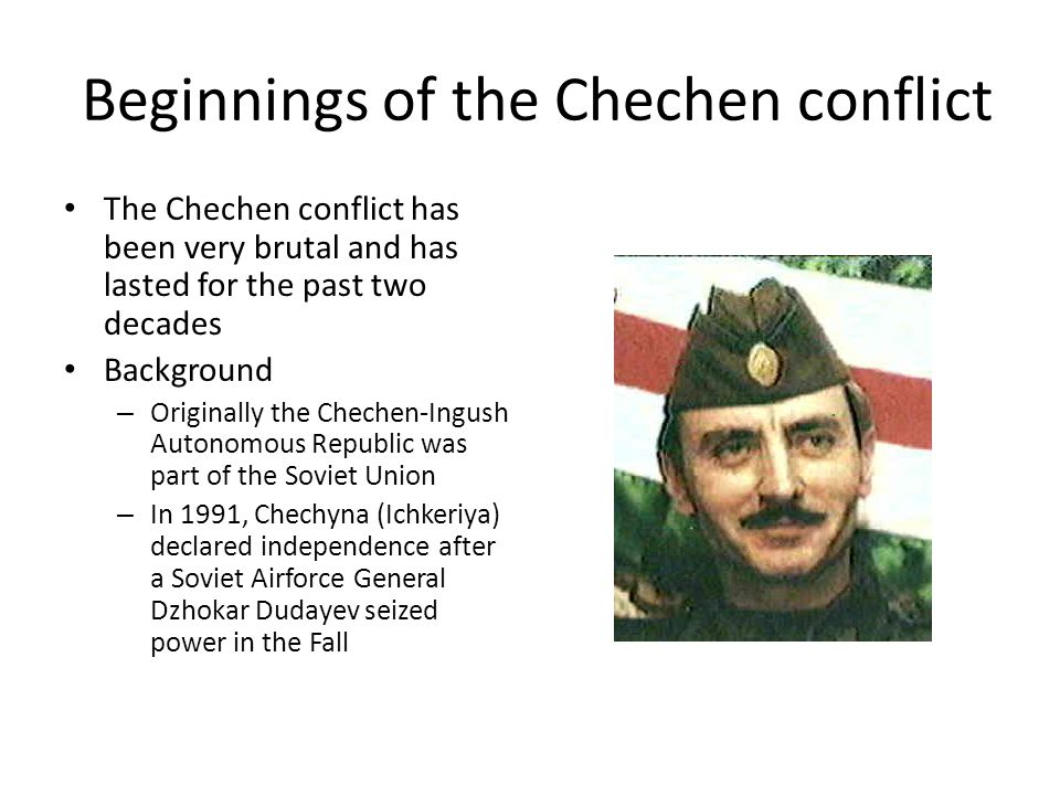 Beginnings of the Chechen conflict