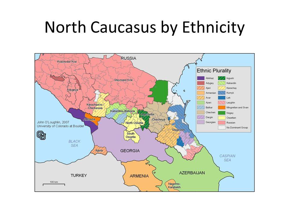 North Caucasus by Ethnicity