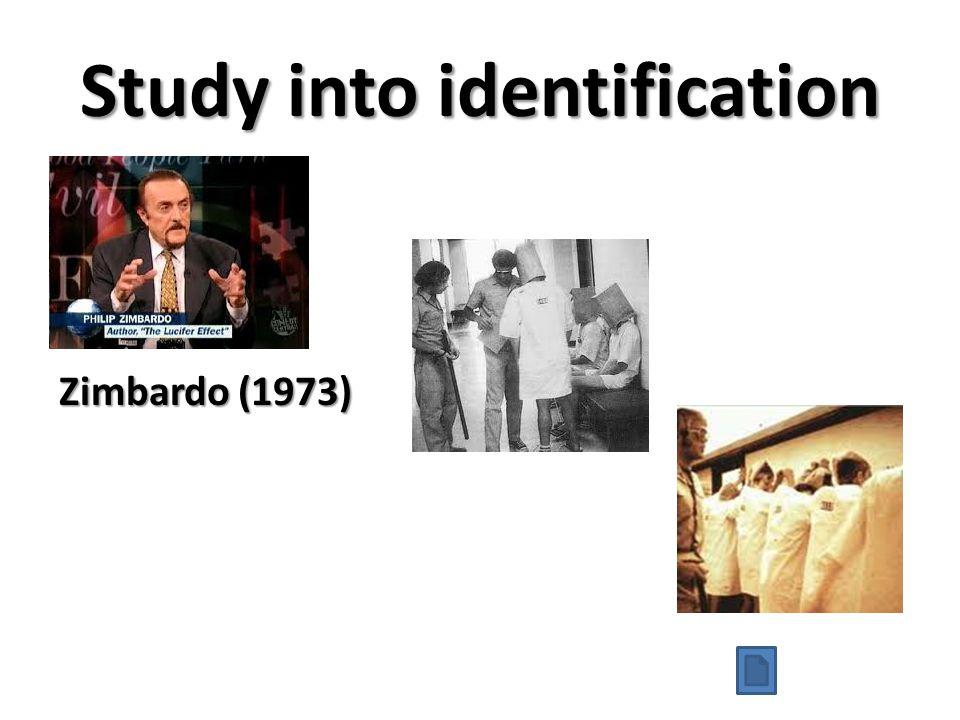 Study into identification