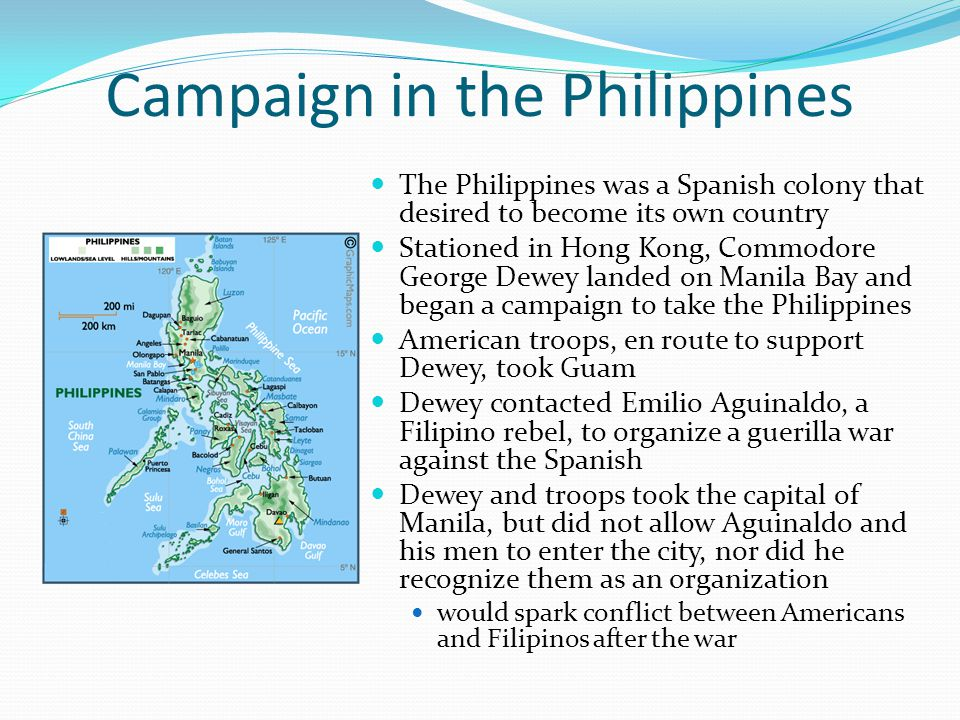 Campaign in the Philippines