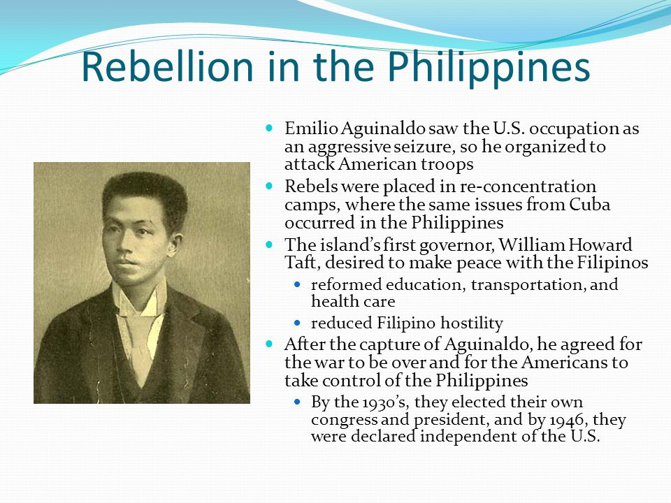 Rebellion in the Philippines