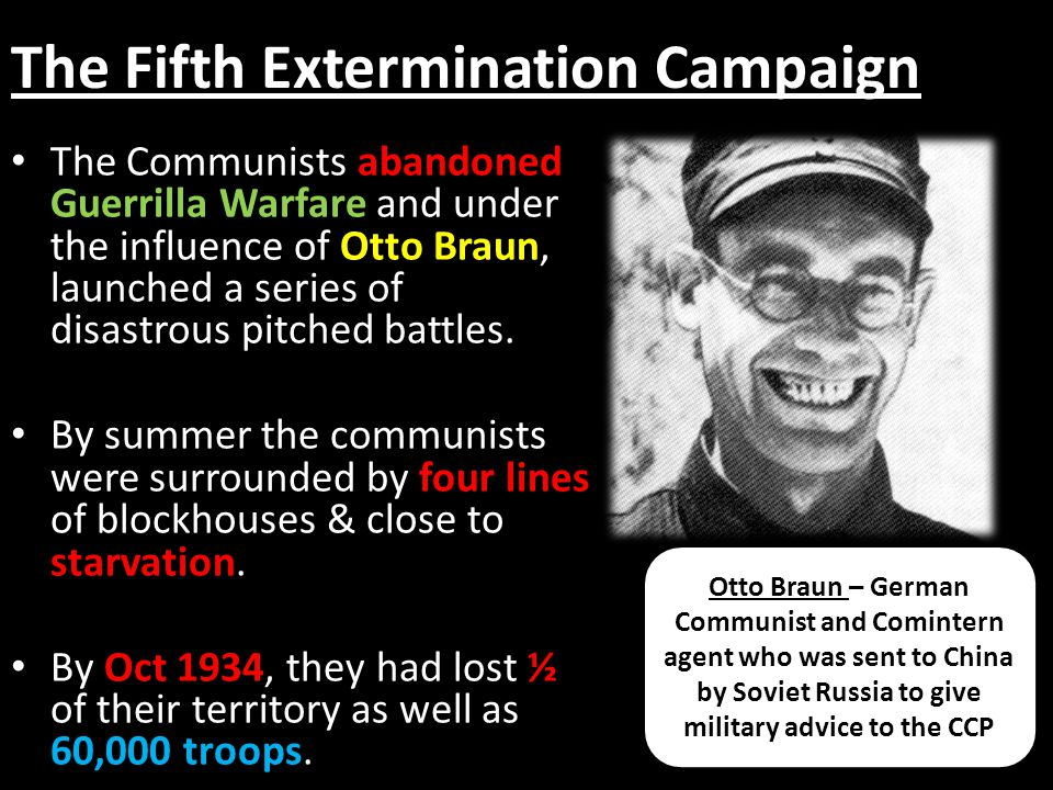 The Fifth Extermination Campaign