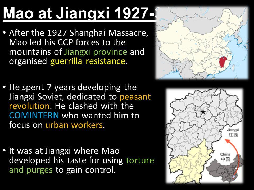 Mao at Jiangxi 1927-34