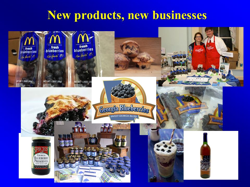 New products, new businesses