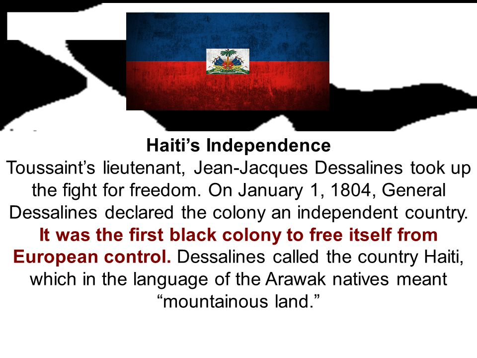 Haiti's Independence