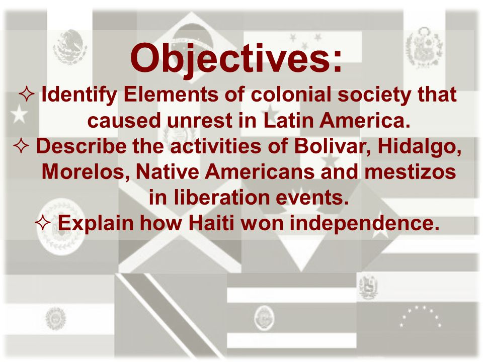Explain how Haiti won independence.