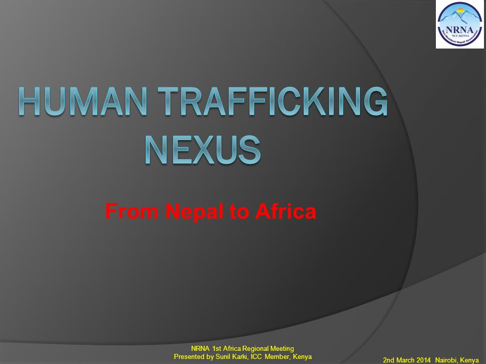 Human Trafficking nexus