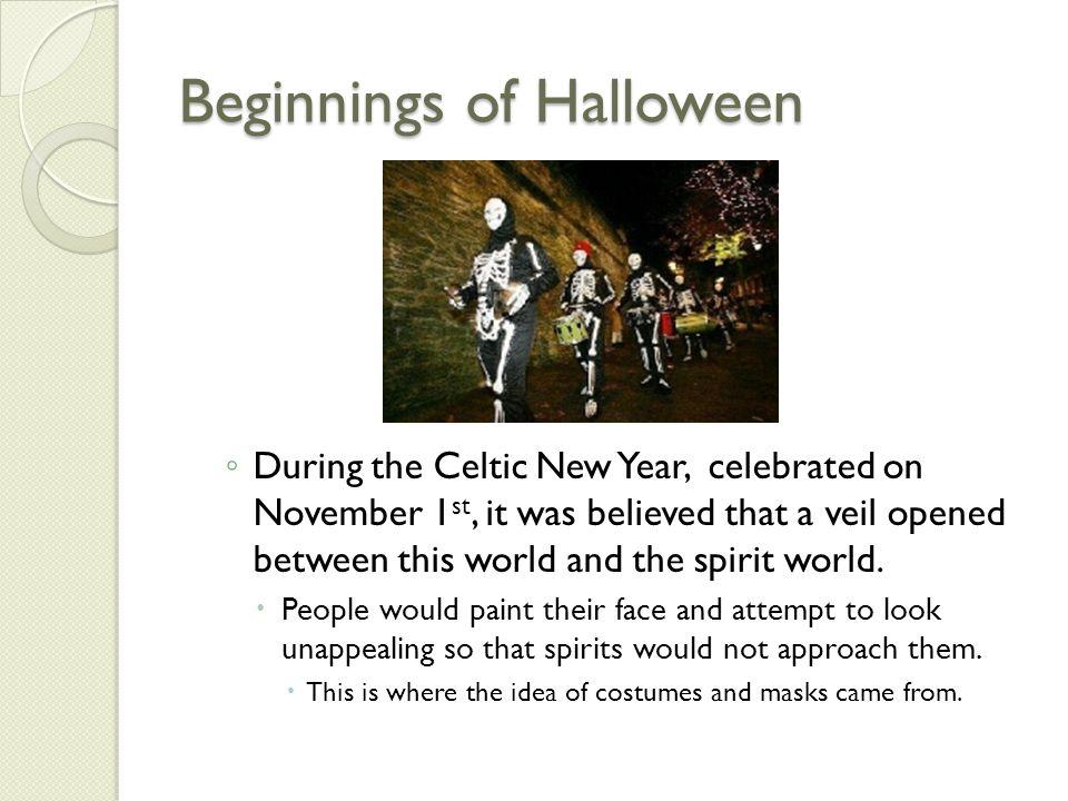 Beginnings of Halloween