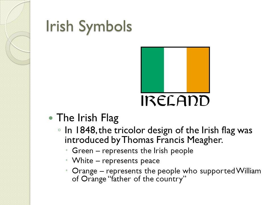 Irish Symbols The Irish Flag