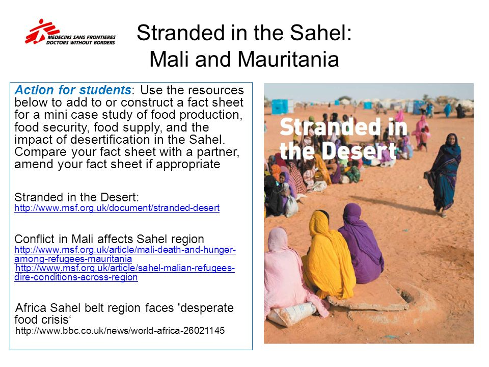 Stranded in the Sahel: Mali and Mauritania