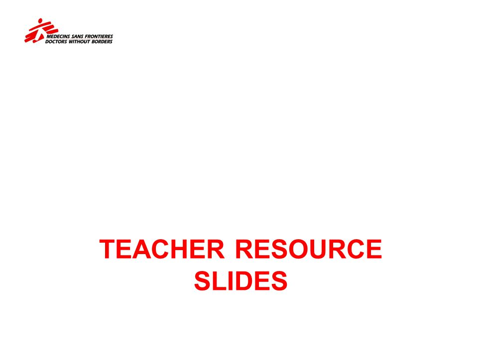 Teacher resource slides