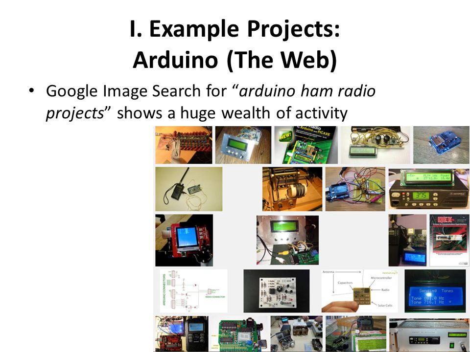 I. Example Projects: Arduino (The Web)