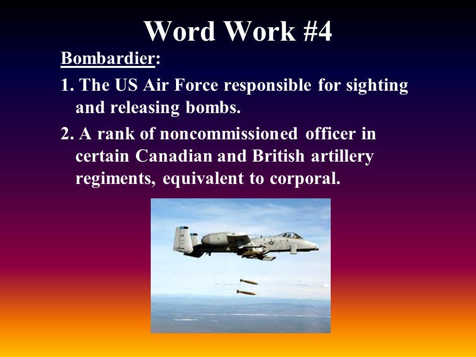 Word Work #4