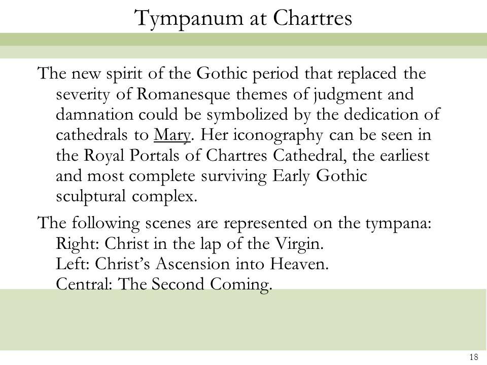Tympanum at Chartres