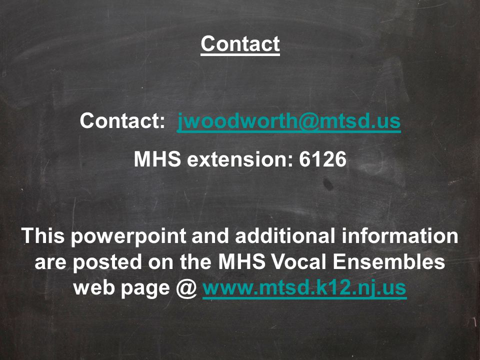 Contact: jwoodworth@mtsd.us