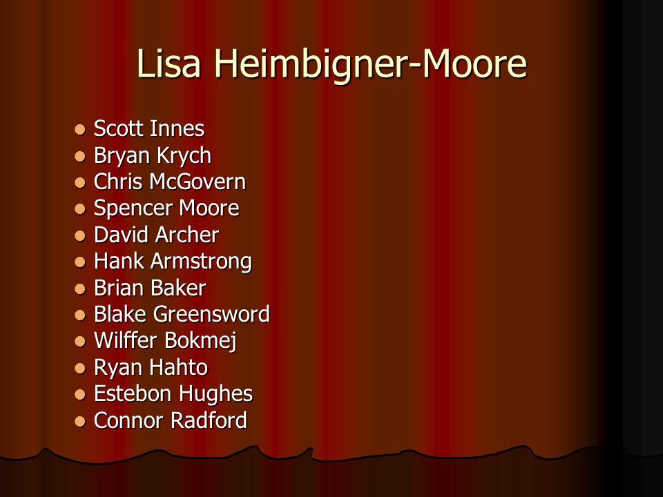 Lisa Heimbigner-Moore