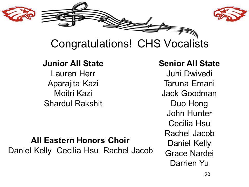 All Eastern Honors Choir